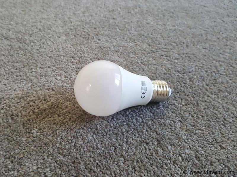 10 st. 10 watt E27 LED lampen - Wit