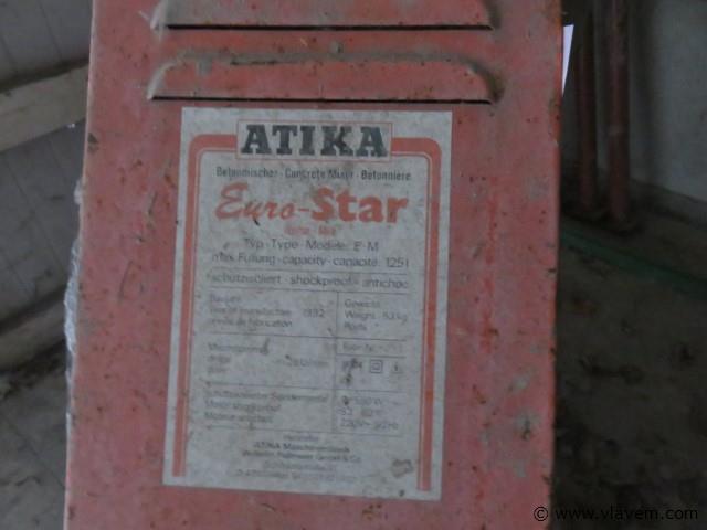 Betonmolen Atika Workstar