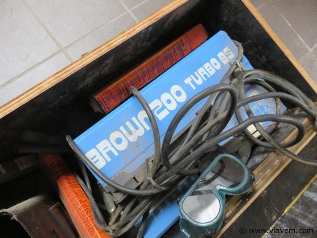 Laspost Brown 200 Turbo BS