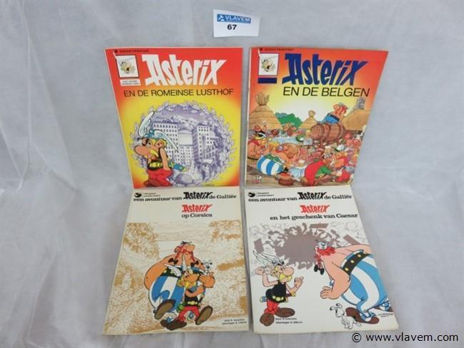 Asterix, 12 stuks, gemengde uitgaven