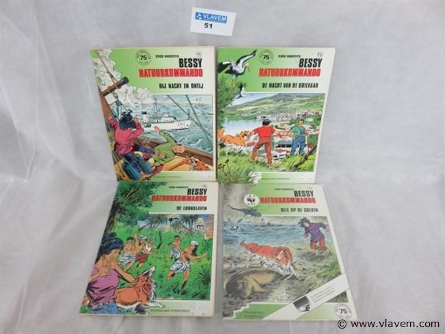 Bessy (1ste druk)  11 stuks