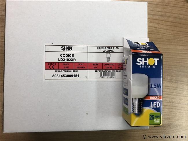 LED lampen 1,5 W