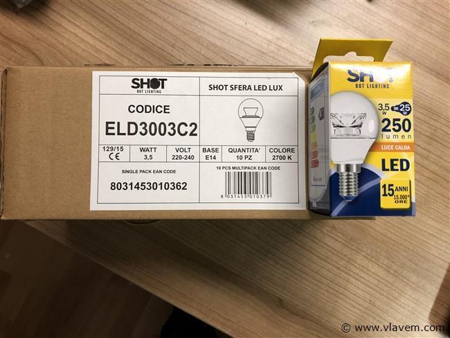 LED lampen 3,5 W