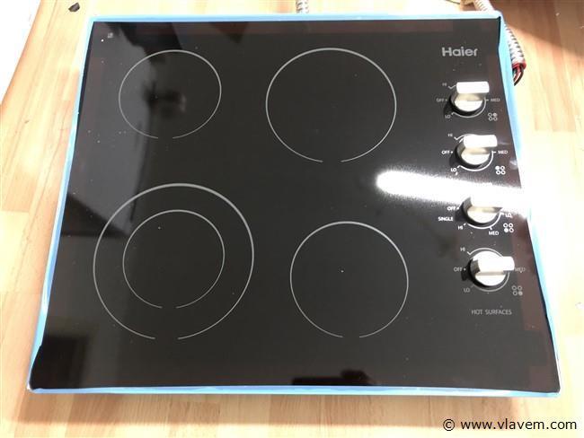 vitrokeramische kookplaat