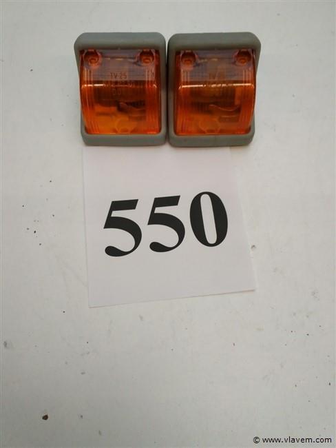 2 Hella toplicht oranje  SWF 400 890