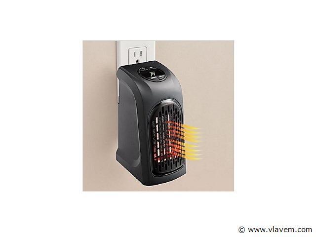 2x Plug-in heater voor in het stopcontact