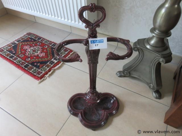 Antieke paraplustaander fonte 60cm (living)