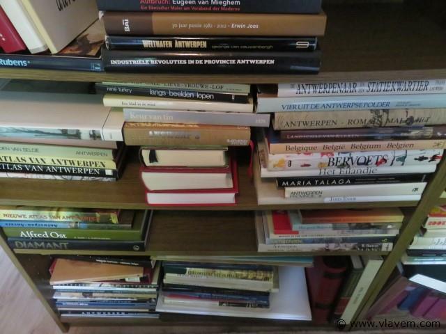 Grote collectie, oa. Kunstboeken enz…. (slpk rechts)