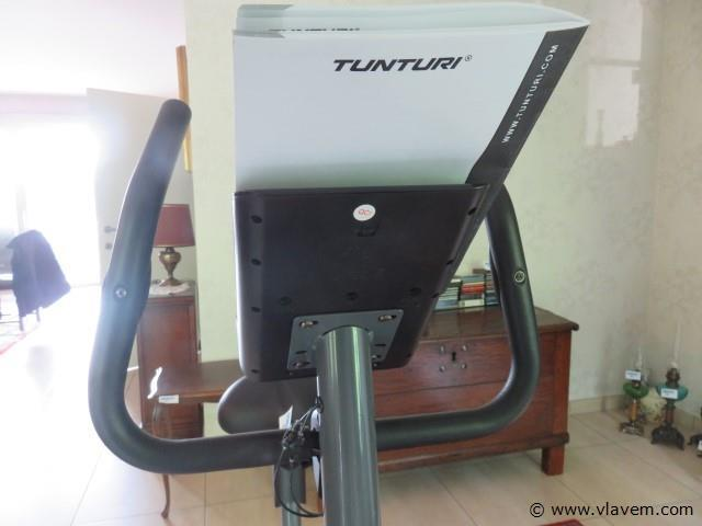 Tunturi hometrainer met manuel (living)