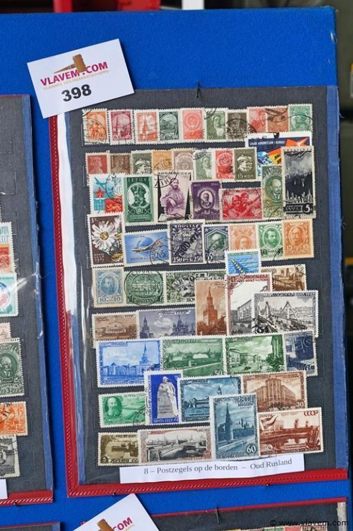 Postzegels oud Rusland