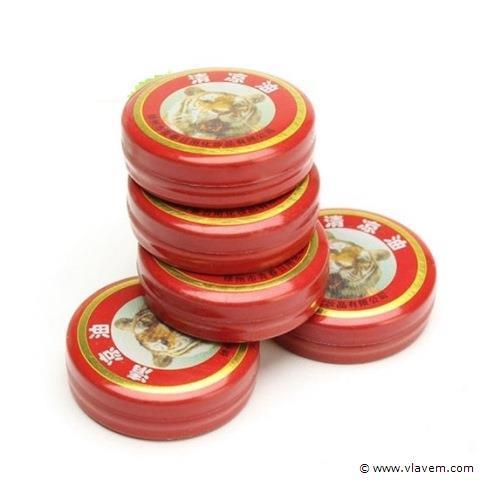 Tijgerbalsem pocket rood 20 stuks