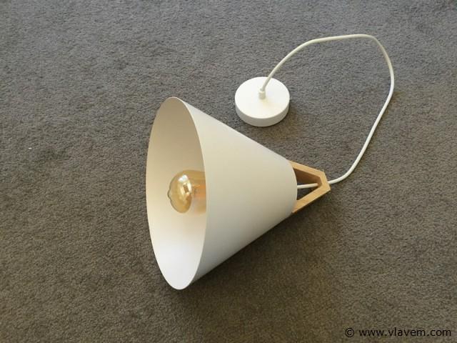 10 x Modern hanglampen - TRIWOW - Mat wit met hout