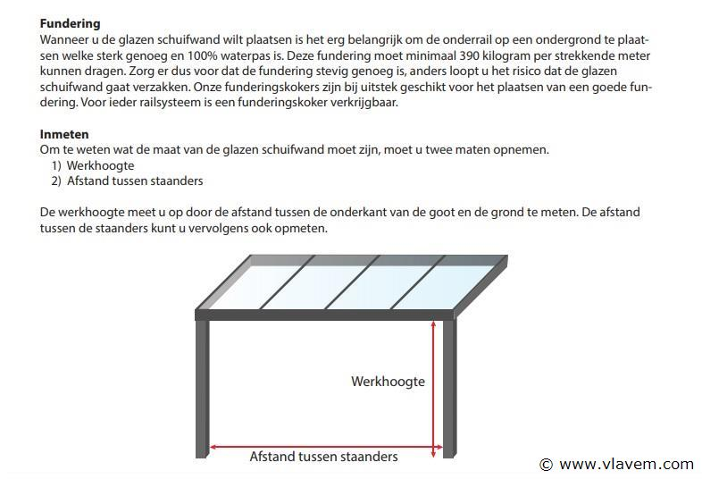 Glazen schuifdeursysteem 4 deurs, veiligheidsglas 10 mm, 3920mm breed, 2500mm hoog, crémewit RAL9001