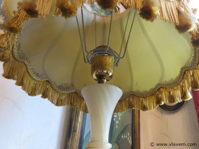 Lamp onyx 83cm