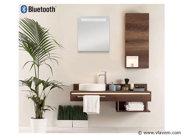 1 st. Spiegelkast 45cm met LED verlichting en Bluetooth speakers