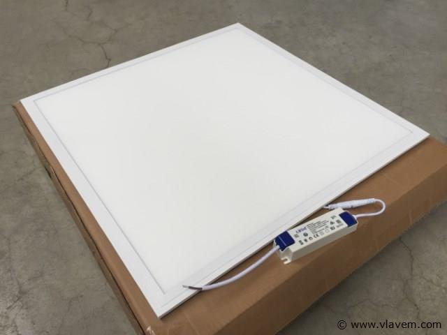 12 x 36 watt 60x60 LED panelen - Neutraal wit