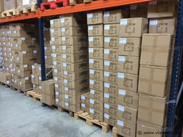 50 x 5 watt vierkant inbouw SAMSUNG LED panelen - Warm wit