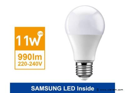 50 x 11 watt E27 SAMSUNG LED lampen - Warm wit