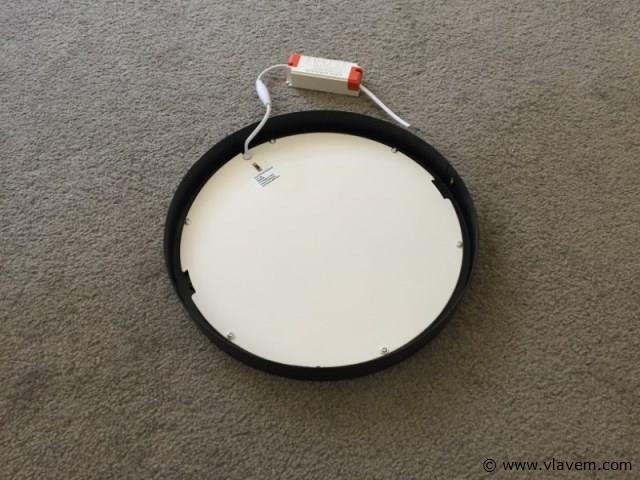 10 x 24W mat zwart rond 3 in 1 opbouw LED panelen