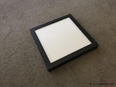 10 x 24W mat zwart vierkant 3 in 1 opbouw LED panelen