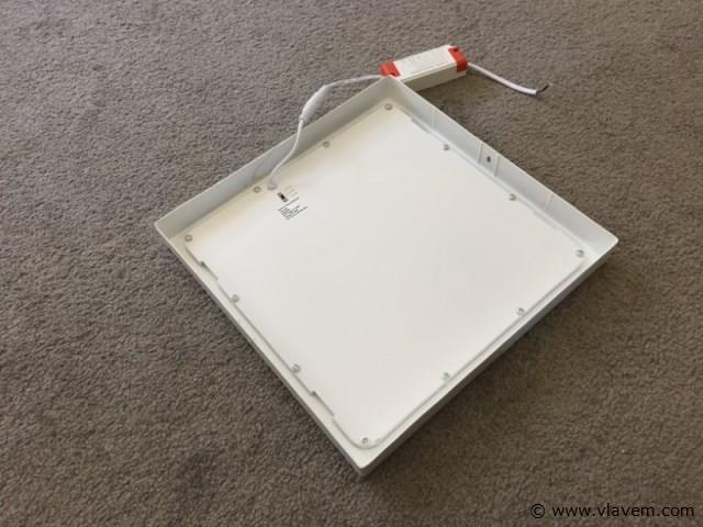 10 x 24W mat wit vierkant 3 in 1 opbouw LED panelen