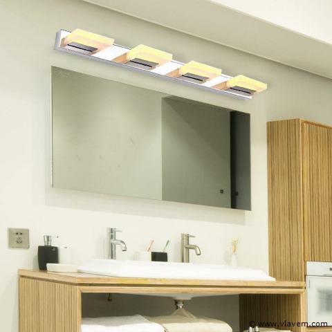 5 x 12W LED Chroom muur, spiegel en beeld lampen
