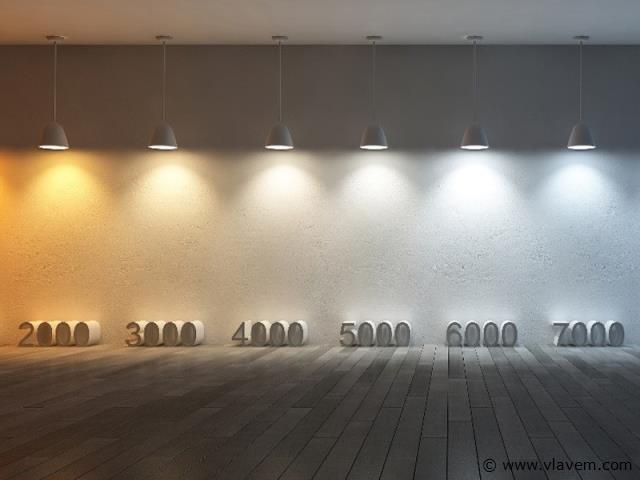 50 x 5 watt GU10 LED Spot - 3 stap dimming