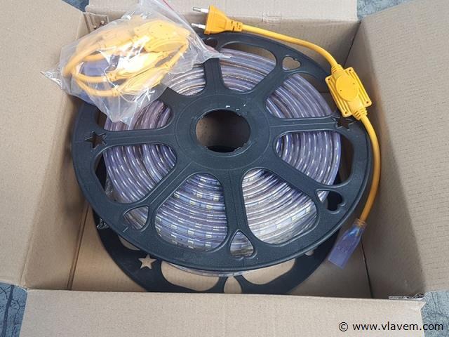 1 x 50 meter waterdicht LED strips - Blauw