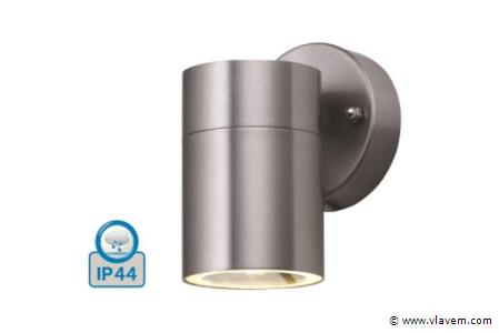 12 x Mat chroom waterdicht tuinlampen - Warm wit