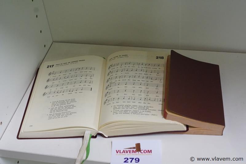 Kerkboeken met zang