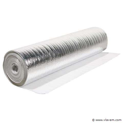 Vloerisolatie Envoy Silver 3mm 20m²/rol – 4x20m²