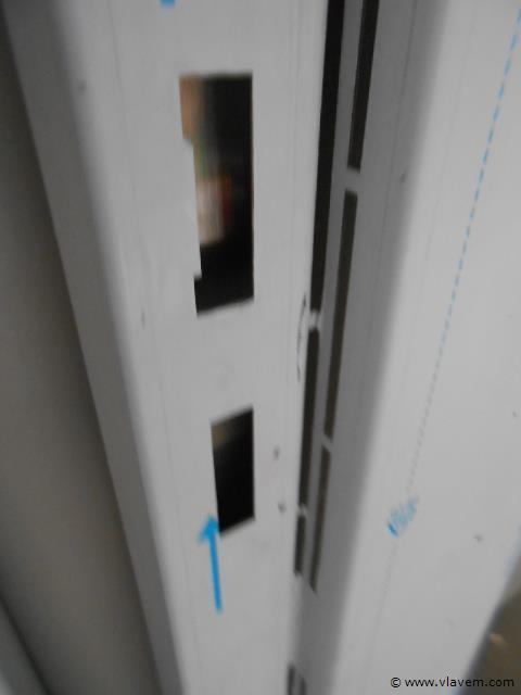 rvs deurkader