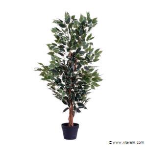 Kunstplant, Ficus ca. 120 cm, 4x