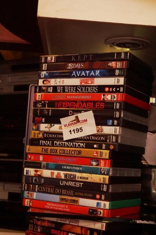 Diverse speelfilm dvd