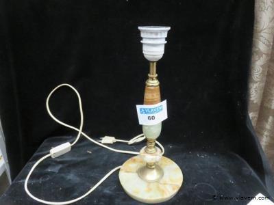 Lampenvoet onyx