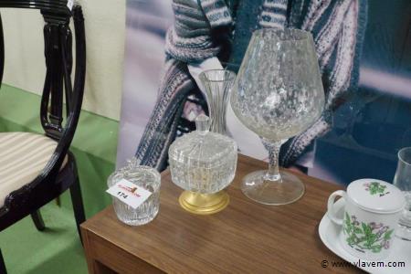 Siervoorwerpen in glas