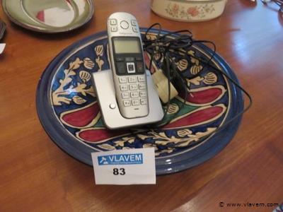 Varia telefoon en schaal