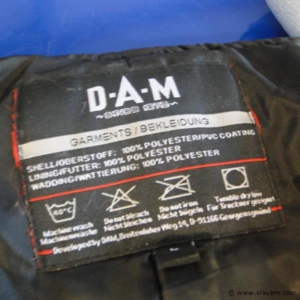 D-A-M steelpower salopette maat L
