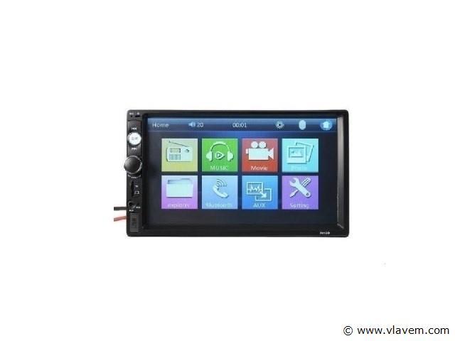 Autoradio met touchscreen