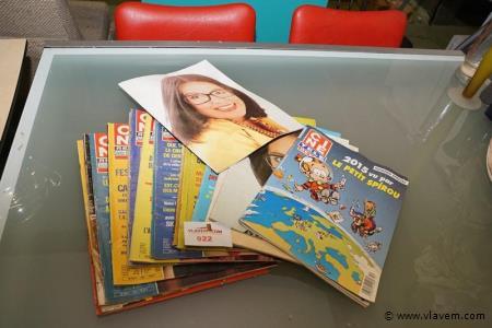 Partij oude tijdschriften