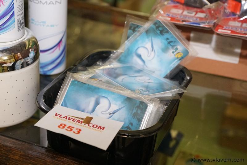 Doos niet gebruikte telefoonkaarten