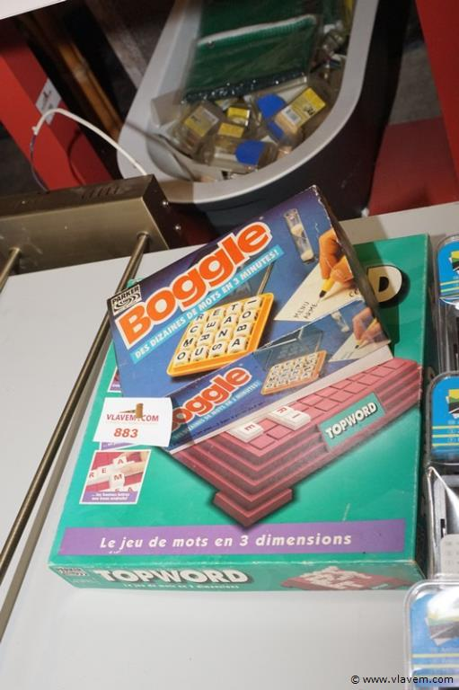 Speelgoed in twee dozen