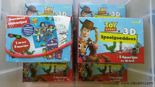 Toy Story 3D speelgoeddozen