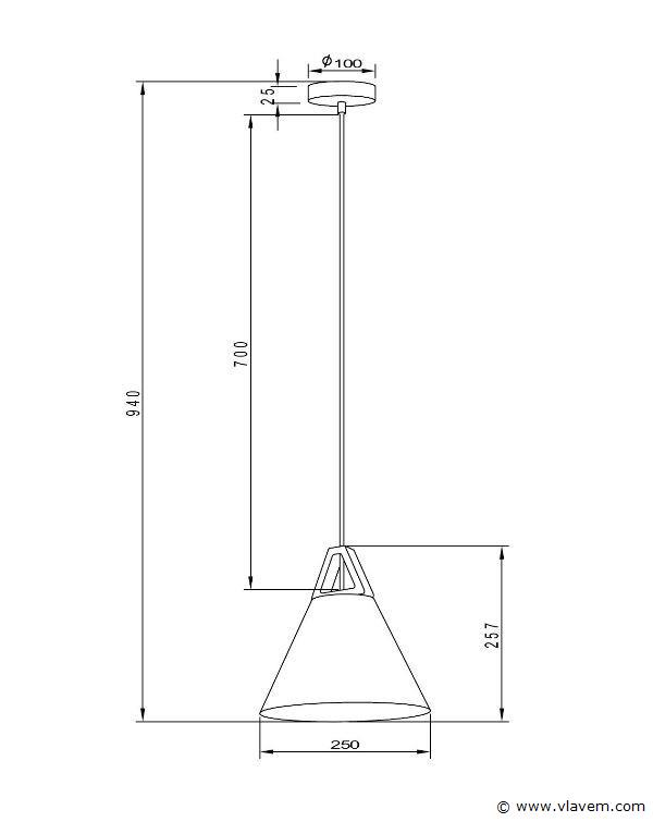 6 x Design hanglampen - TRIWOG - Mat donkergrijs met hout