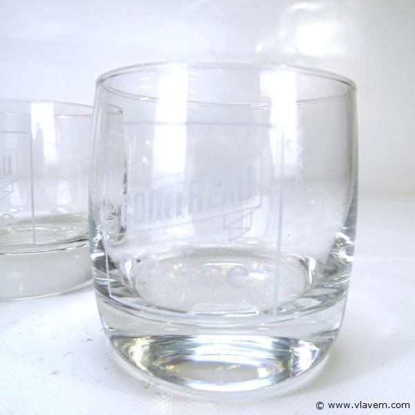 4 originele Cointreau glazen