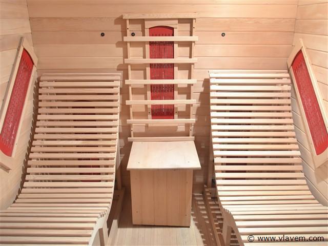 Infrarood Sauna - Rechthoekig 180x180x190cm