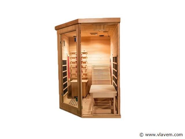 Infrarood Sauna - Driehoekig 180x130x190cm
