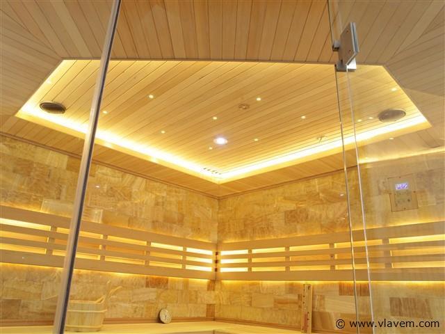 Sauna - Prisma 220x220x210cm