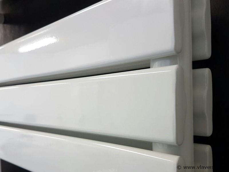 1 st. Dubbele design badkamerradiator WIT - H1760 x B600 FARKO