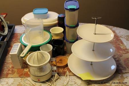 Diverse keukenassesoires